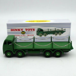 Atlas-Dinky-Supertoys-No-905-Foden-Flat-Truck-with-Chains-Mint-boxed
