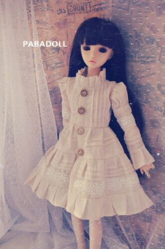 Vintage Forest Dress Dress for Bjd doll 1//4 MSD,1//3,SD16 Doll Clothes CWB90