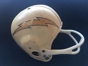 1960-s-AFL-SAN-DIEGO-CHARGERS-FOOTBALL-YOUTH-KIDS-OLD-HELMET-VINTAGE-RARE