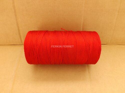 Rosso Verde 500gm rocchetti di spago intrecciato in nylon in 6z e 8z Giallo Borsetta RETI