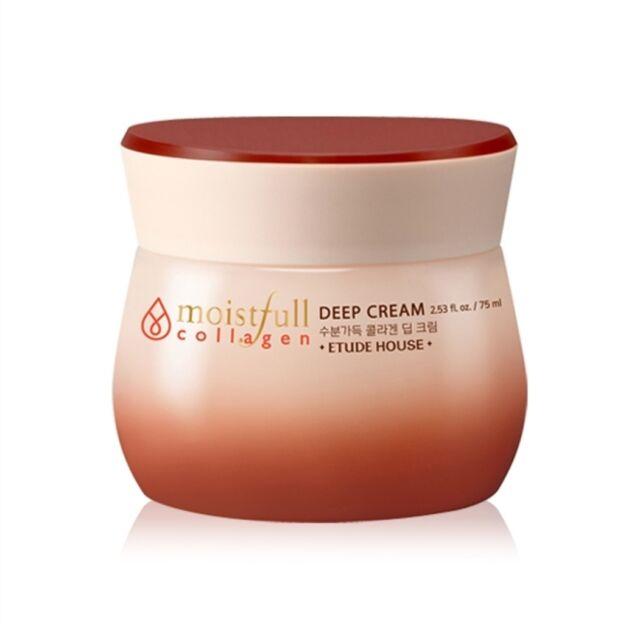 ETUDE HOUSE* Moistfull  Collagen Deep Cream 75ml (New) -Korea cosmetics