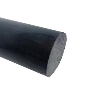 "Black Delrin Acetal Plastic Rod 2/"" Diameter x 12/"" Length"
