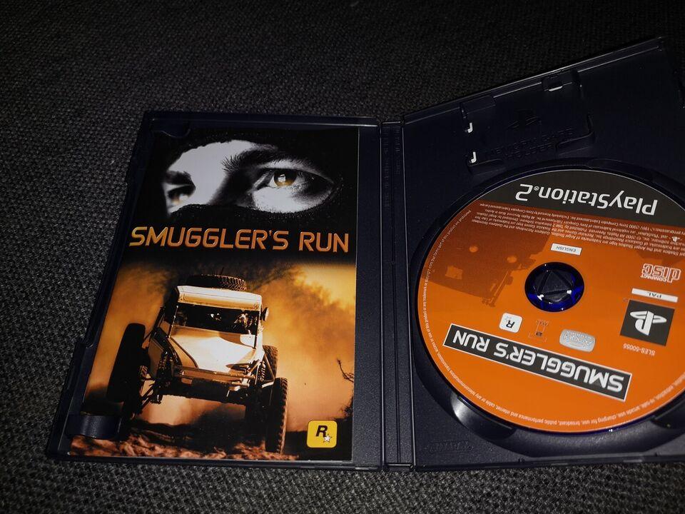 Smuggler's run, PS2, racing