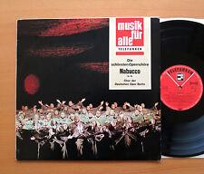 Nabucco Opera Choruses Deutsche Opera Berlin Telefunken NT 111 Stereo NM/EX