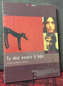 Tu Devi essere il Lupo DVD + Booklet Nuovo Vittorio Moroni Cofanetto Cartone