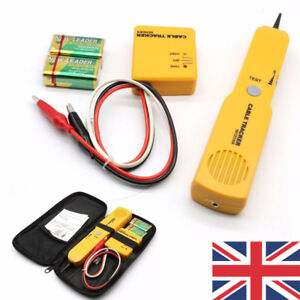 Details about CABLE FINDER TONE GENERATOR PROBE TRACKER WIRE NETWORK TESTER  TRACER KIT