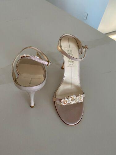 Badgley Mischka - Blush pink Pearlescent sandal