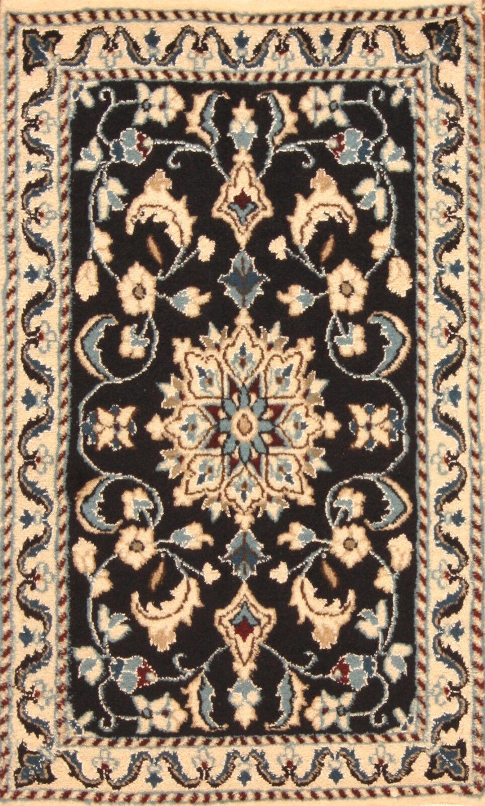 TAPPETO Orientale Vero Annodato Tapis persan 660 (90 x 60) cm Nuovo