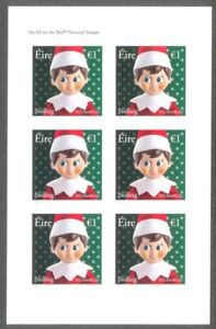 Image Is Loading Elf On The Shelf Ireland 6 Christmas Stamps