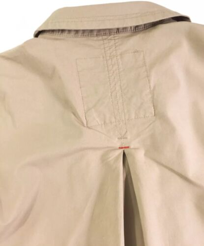 Tommy Hilfiger Women/'s Cropped Trench Coat Jacket