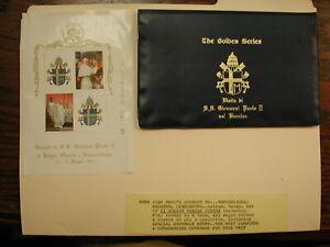 Pope John Paul The Golden Series -Trip to Netherlands, Belgium -11 Covers