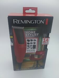 Remington 14pc Home Barber Haircut Cutting Clippers Hair Cut Styling Kit Trimmer