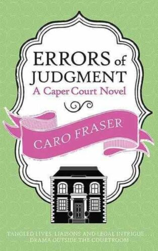 1 of 1 - Errors of Judgment (Caper Court)-ExLibrary