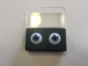 10mm Dark Brown Glastic Realistic Acrylic Doll Eyes