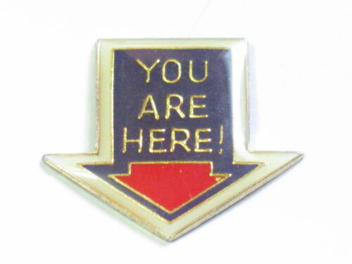 You Are Here Sayings Pin
