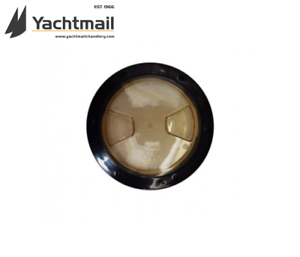 """INSPECTION HATCH MARINE Quality Black//Clear inspection hatch 7/"""" Hatch 5/"""" cut out"""
