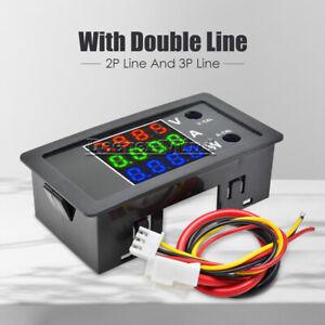 DC-0-100V-10A-4-Bit-Digital-LED-Power-Volt-Current-Amp-Meter-Voltmeter-Ammeter