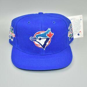 Toronto-Blue-Jays-Vintage-1992-1993-MLB-World-Series-Champions-Snapback-Cap-Hat