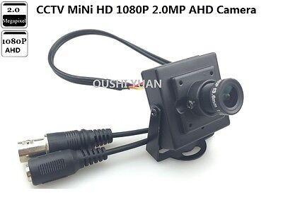 CCVT HD-AHD 1080P 2.0MP 3.6mm lens IR-Cut  CCTV Security Mini HD AHD Camera