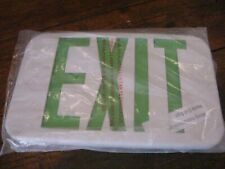 R1 Lithonia Lighting Replacement Cover Thermoplastic Emergency Exit Green