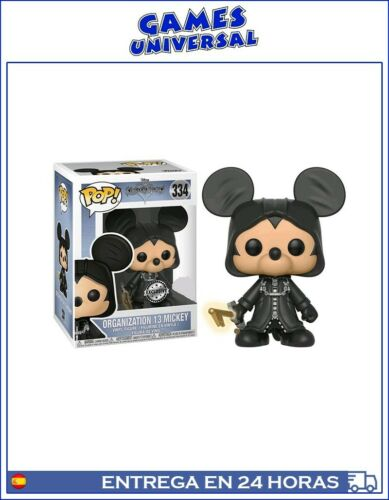 Funko pop kingdom hearts organization 13 mickey exclusive