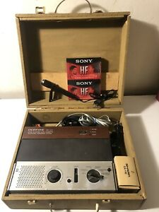 Vintage-Radio-Shack-Duofone-TAD-111C-Dual-Cassette-Telephone-Answering-System