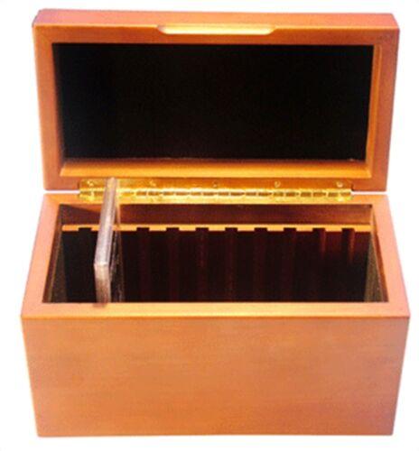 Guardhouse Wood Display Box GSA Box 10 Slabs COINS