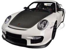 2011 PORSCHE 911 (997 II) GT2 RS WHITE W/ BLACK WHEELS 1/18 MINICHAMPS 100069405