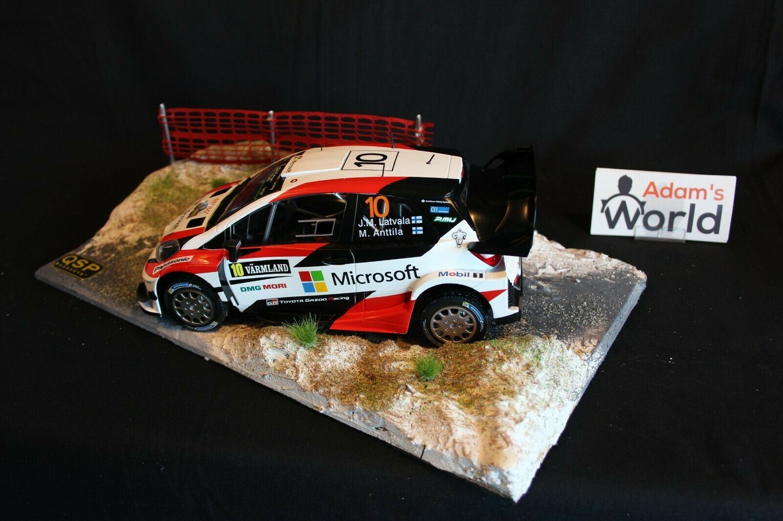 QSP Diorama 1 18 Rallye stage type 3   Réponses rapides