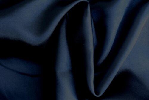 150cm wide Black Satin