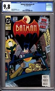 Batman-Adventures-9-CGC-Graded-9-8-NM-MT-DC-Comics-1993