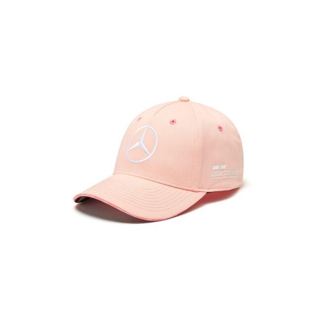 ae9e73e8de3 Mercedes Benz F1 Special Edition Lewis Hamilton 2018 Monaco Grand Prix Pink  Hat