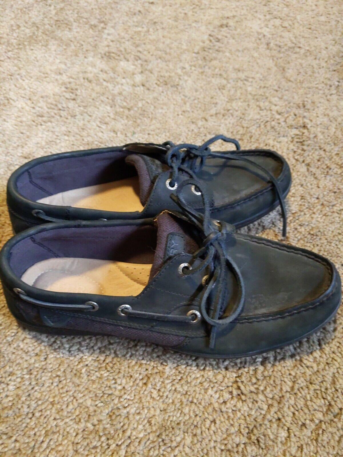 Koifish Boat Shoe Black 7.5M