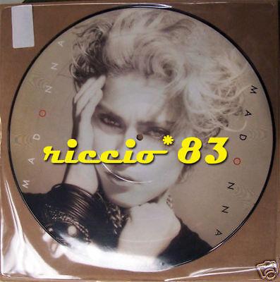 Madonna-Madonna LP ALBUM VINILE 200gr PICTURE DISC   MINT