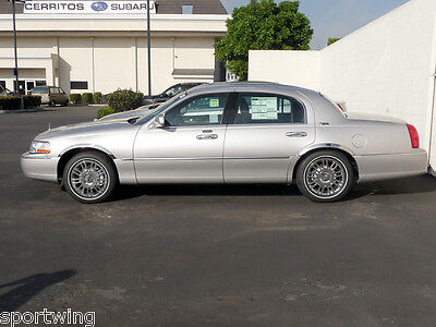 """1998-2002 Lincoln Town Car Stainless Steel Chrome Fender Trim  2.0/"""" Width"""