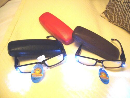 CASES  READING EYEGLASS CASES IN 3 GREAT COLORS...REALLY GREAT LITTLE CASES !!!