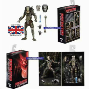 Alien-vs-Predator-Arcade-7-034-Scale-Action-Figure-Warrior-Predator-NECA