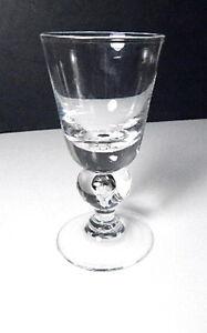 Steuben Crystal 7877 Bubble Stem Wine Glass(s)
