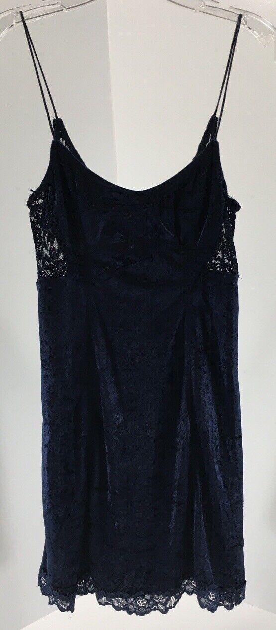 Intimately Free People damen Spaghetti Strap Slip Dress Midnight Blau XS NWT