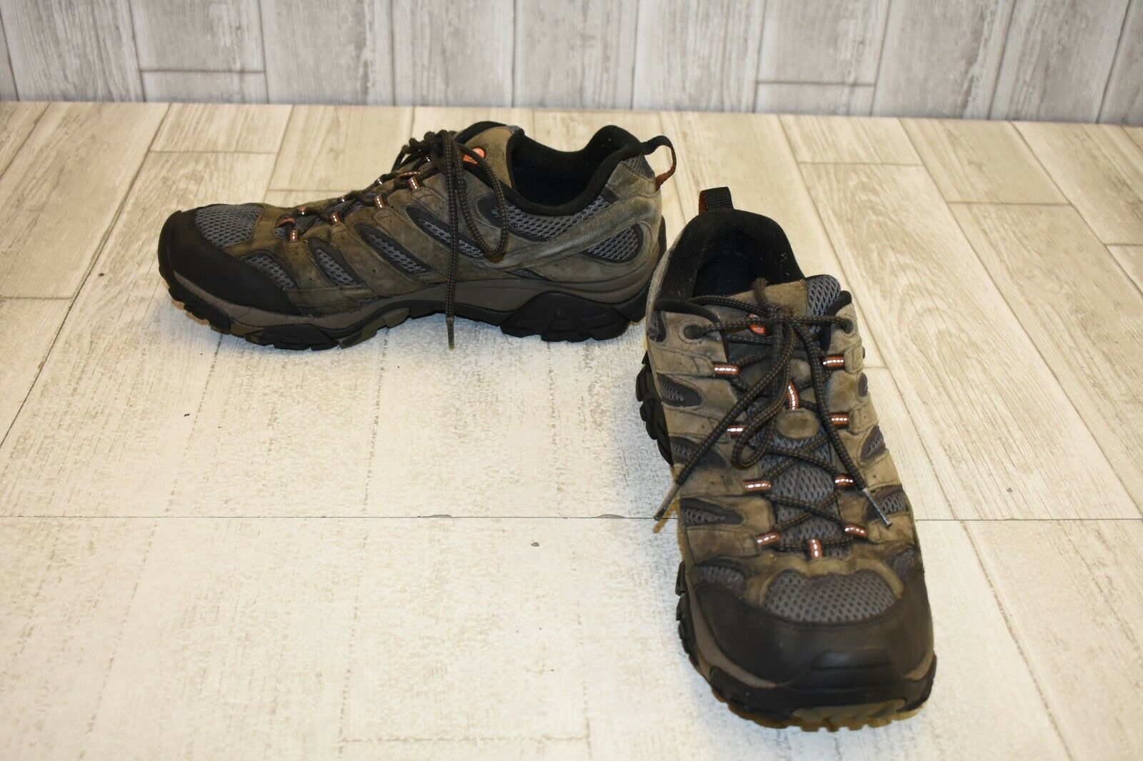 Merrell Moab 2 Waterproof Hiking shoes, Men's Size 12, Beluga