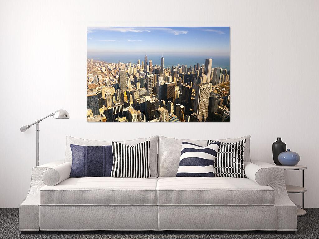 3D Geschftige Stadt Himmel 723 Fototapeten Wandbild BildTapete AJSTORE DE Lemon