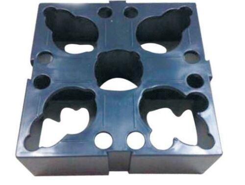 2 Pcs Plastic Storage Racks For Erowa 50mm Holders