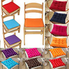 Seat Pads Dining Room Patio Garden Home Office Soft Chair Cushions Tie On Decor