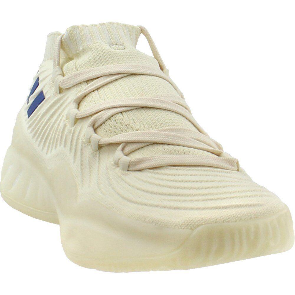 Adidas Adidas Adidas Sm Crazy Explosive Low 2017 Primknit MM Basketball shoes - White - Mens 490761