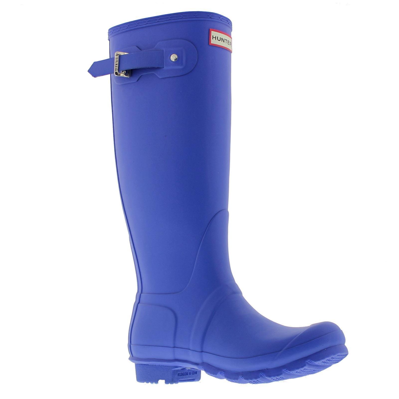 Hunter Original Tall Cobalt Womens Rain Boots