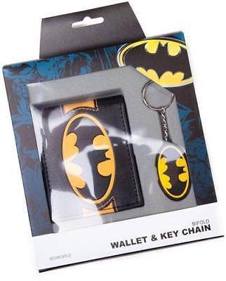 Batman Wallet+keychain Portafoglio+portachiavi Official Merchandise