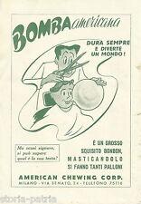 MILANO_AMERICAN CHEWING GUM_GOMMA DA MASTICARE_PARRUCCHIERE_PUBBLICITARIA_1948