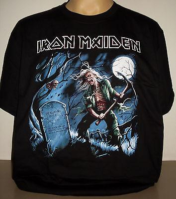 Iron Maiden Benjamin Breeg T-Shirt Size 3XL XXXL On Sale! new! Heavy Metal Band