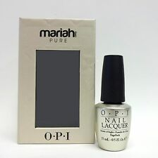 OPI Nail Polish Mariah Care Pure 18K White Gold & Silver Top Coat