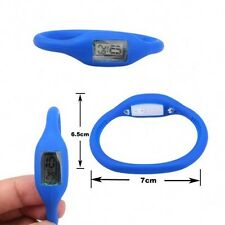 Anion Silicone Digital Jelly Sports Negative Ion Wrist Watch